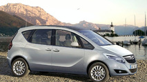 Opel Meriva Spied with Suicide Doors