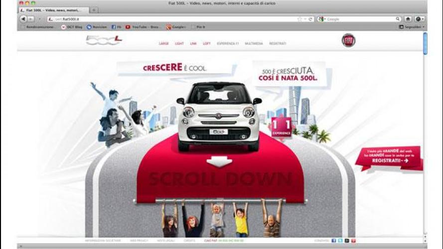 Fiat 500L è a grandezza naturale sul web