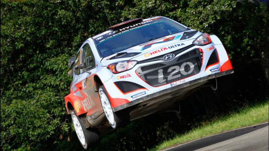 Hyundai, doppietta storica per le i20 al rally di Germania