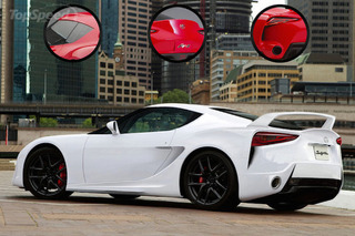 Toyota Supra Rendered from FT-1 Concept Base