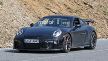 Porsche 911 GT3 Refresh Spy Shots