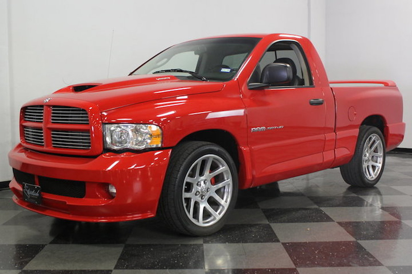 2004 Dodge Ram SRT-10 Hits eBay; Burnouts Included
