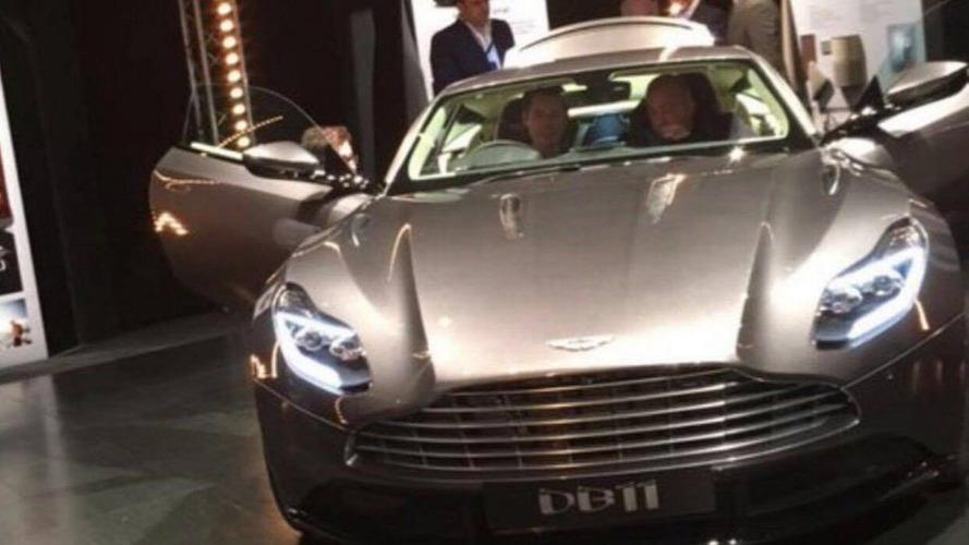 BREAKING: Aston Martin DB11 partially revealed