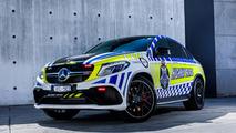 Mercedes-AMG GLE 63 S Coupé de la police australienne