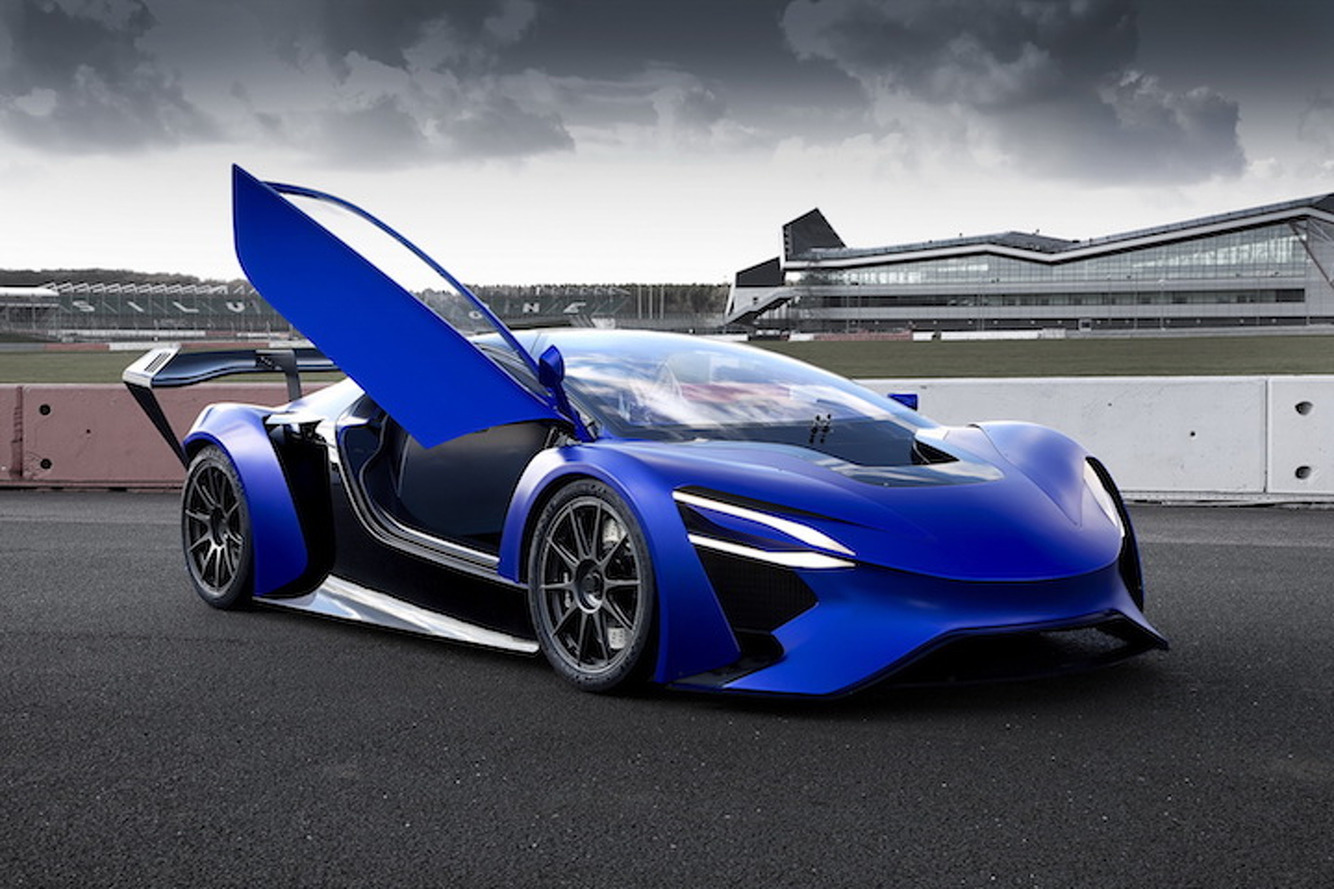 This is China's 1,000HP, 217MPH Electric Supercar