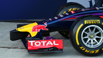 Red Bull Racing RB10 front wing and nosecone  Formula One Testing Jerez Spain