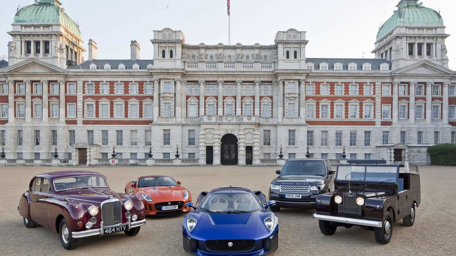 Jaguar C-X75 prototype to star in the Coronation Festival
