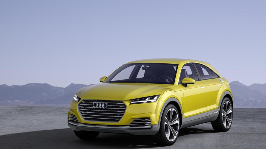 Audi TT offroad concept reportedly getting production version in 2017