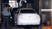 2014 Mercedes C180 L spy photo