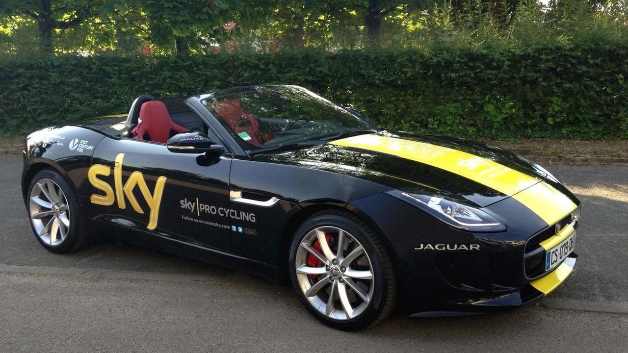 Jaguar F-Type for Tour de France winner Chris Froome 22.7.2013