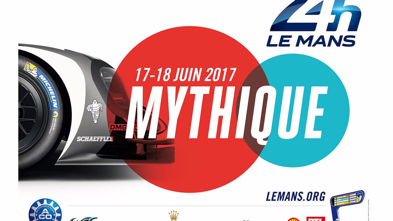 L'affiche des 24 Heures du Mans 2017