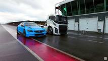 Volvo S60 Polestar versus The Iron Knight