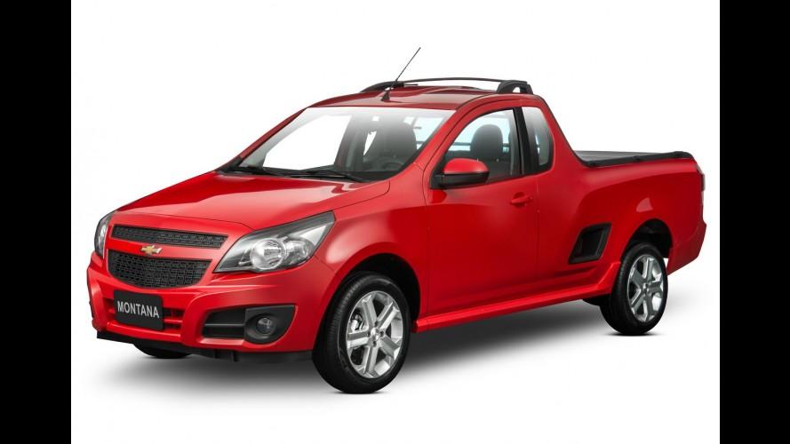 Chevrolet Montana 2017 recebe mudanças mecânicas para ficar mais econômica