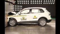 Aguardado no Brasil, novo Volkswagen Tiguan recebe nota máxima no EuroNCAP