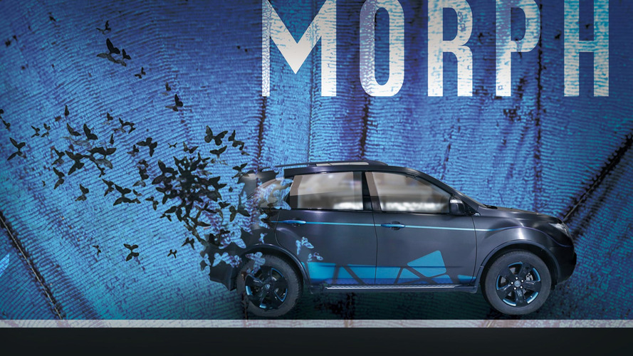 This butterfly-themed Acura MDX looks pretty fly