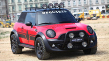 MINI Cooper Red Mudder revealed by DSQUARED for Life Ball 2011