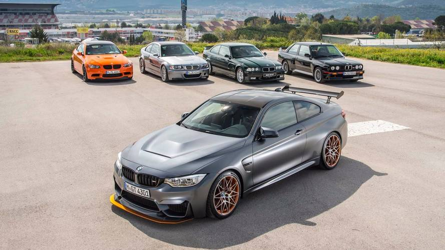 BMW M3 tarihini bir video ile hatırlayalım