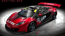 McLaren MP4-12C with Lark livery artist rendering - 920