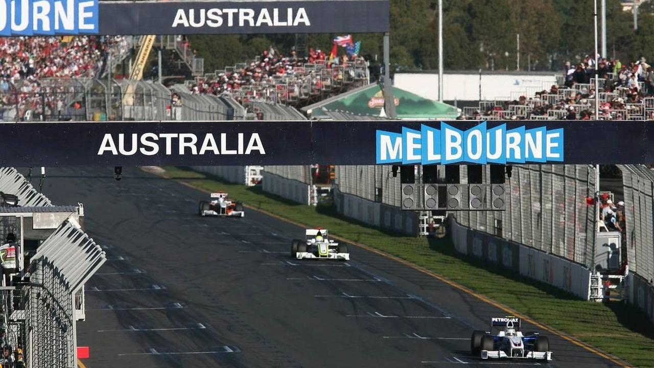 2009 Australian Grand Prix in Melbourne