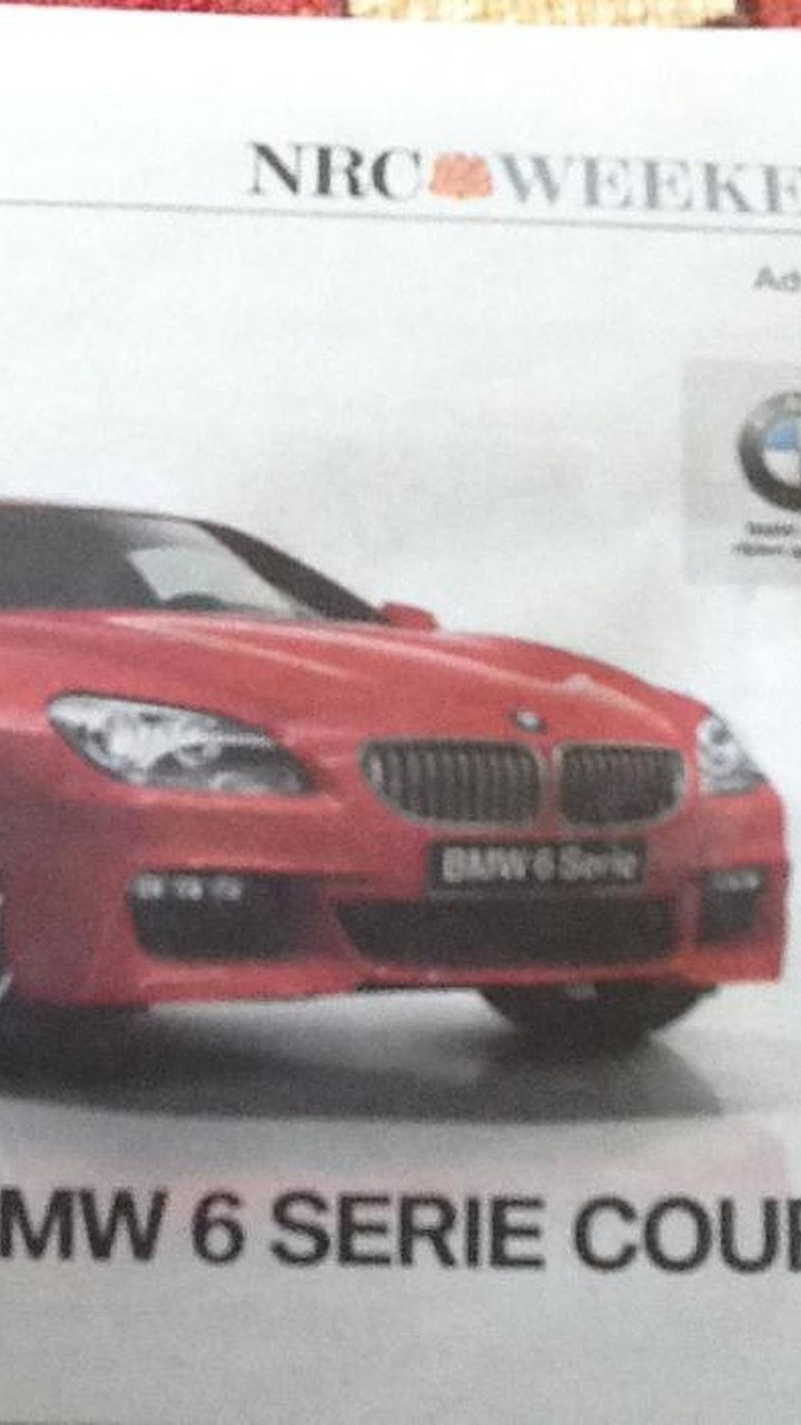BMW 6-Seroes M-Sport leaked image