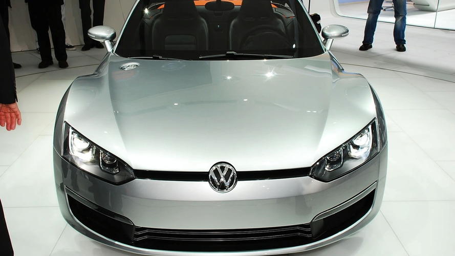 VW Concept BlueSport roadster needs Audi and SEAT to make it into production