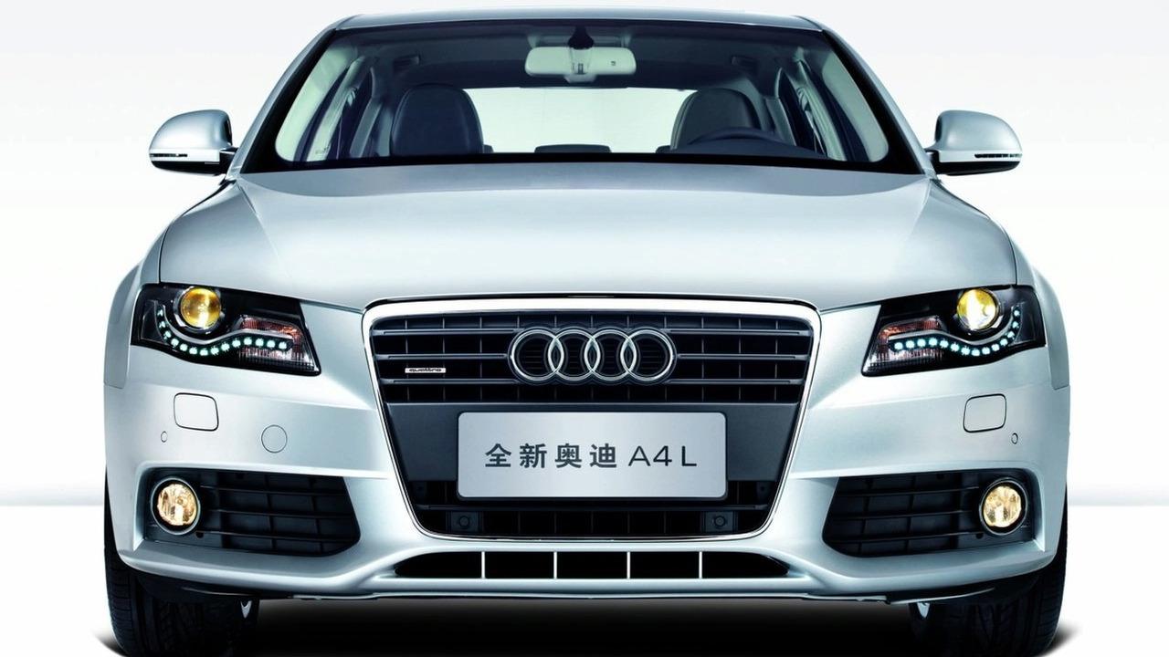 Audi A4 L long-wheel-base for China