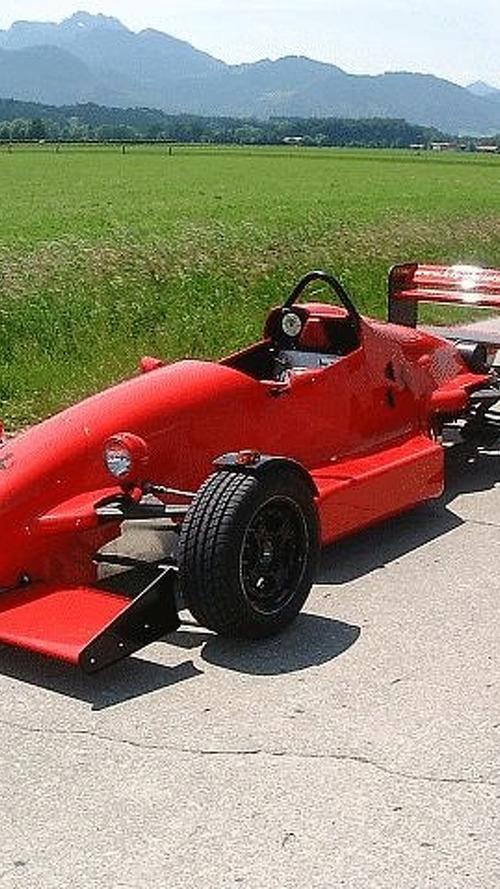 Street legal Formula Ford car in Germany