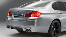2012 BMW M5 Concept first photos 04.04.2011