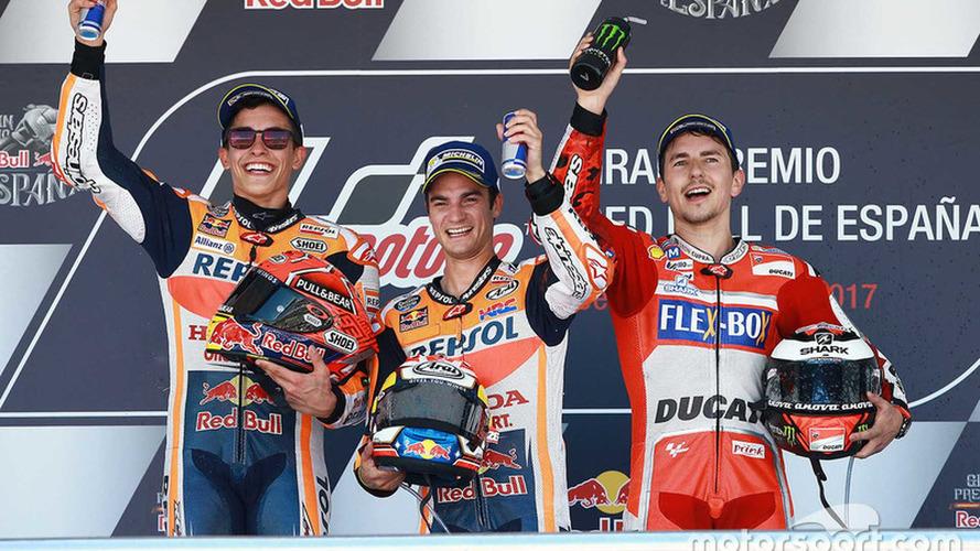 Pedrosa vuelve a la victoria con Márquez y Lorenzo en el podio