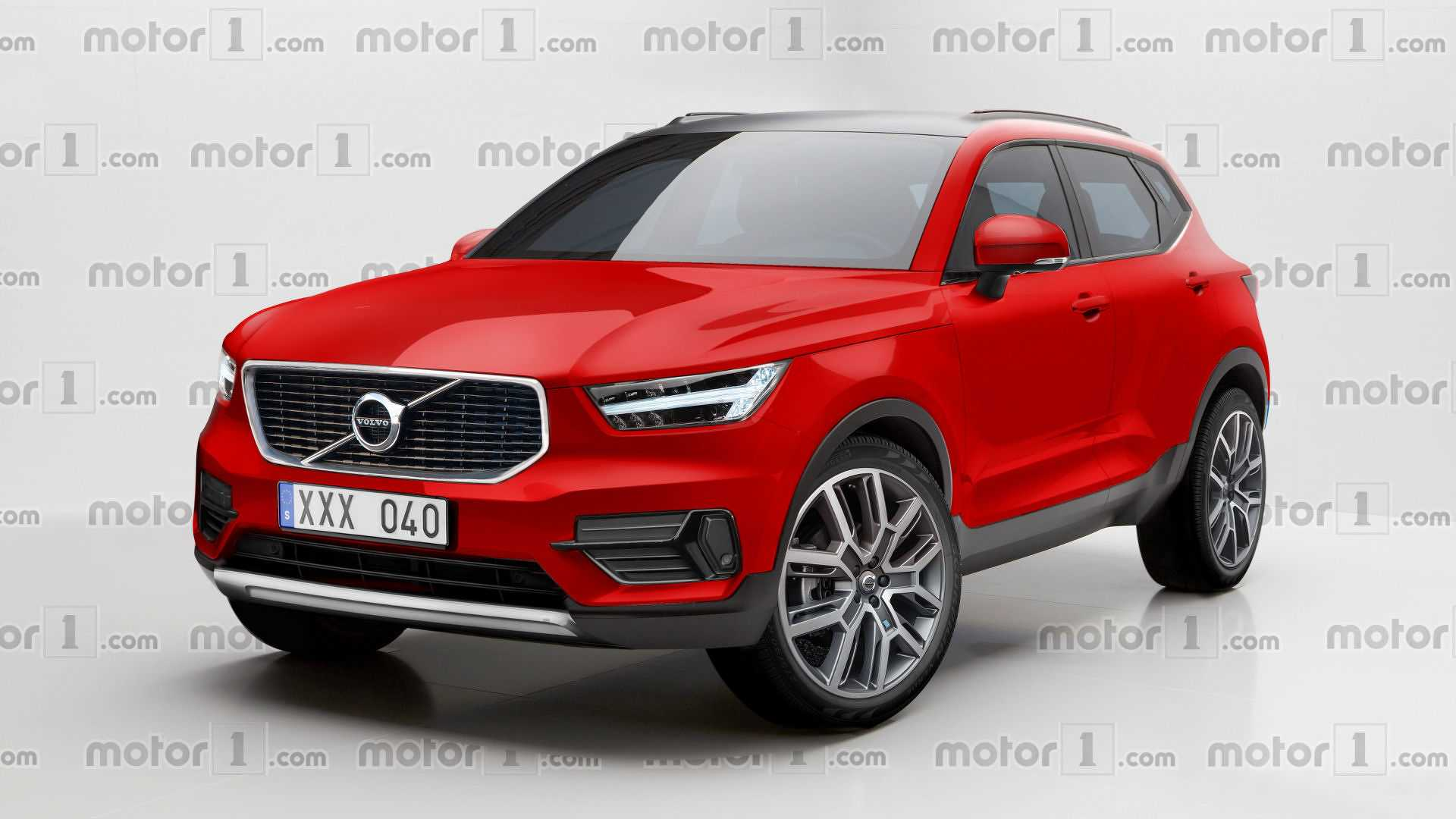 Volvo 40 1 Interior >> Volvo XC40 Rendered Looking Ready For The Road