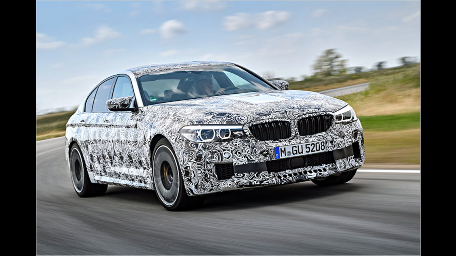 Neuer BMW M5: Endlich Allrad
