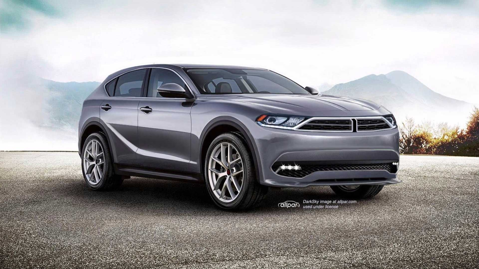 Stelvio Based Dodge Journey Rendered Based On Insider