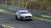 Audi Q8 spied at the Nurburgring