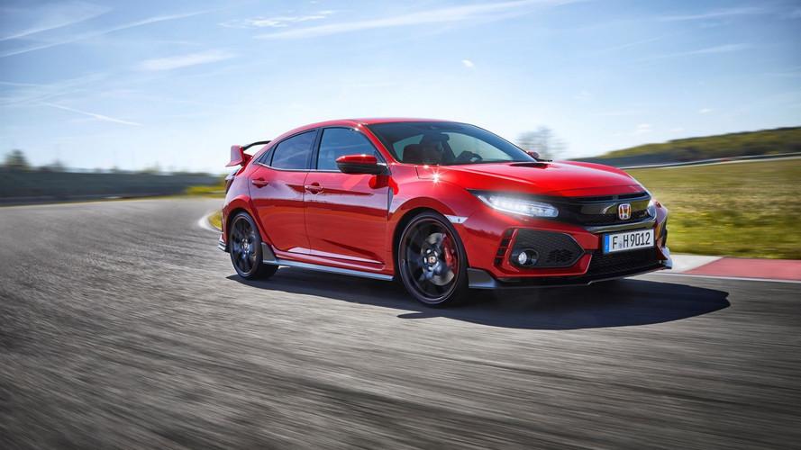 Así alcanza el Honda Civic Type R 2017 los 283 km/h