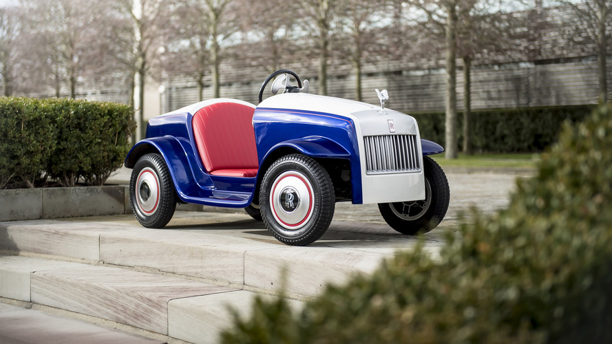 Rolls-Royce builds tiny one-off car for a good cause