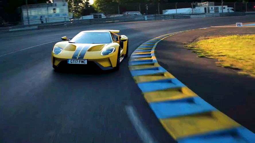 Ken Block Takes Ford GT Out For Spin At Le Mans