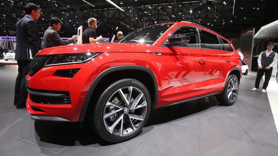 Skoda Kodiaq gets stylish SportLine trim and rugged Scout trim