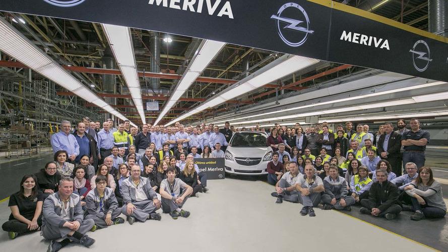 Opel Meriva cesa su producción en Figueruelas