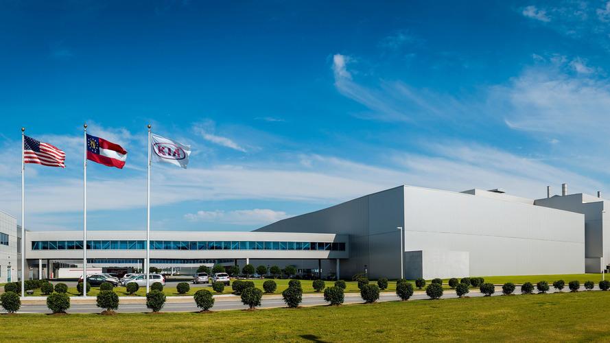 Georgia'da üretilen 1 milyonuncu Kia Sorento