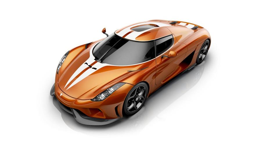 Koenigsegg dévoile une Regera avec une superbe robe orange Mandarine