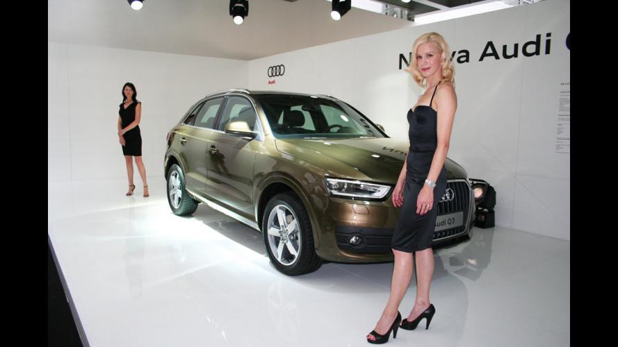 L'Audi Q3 vista da vicino