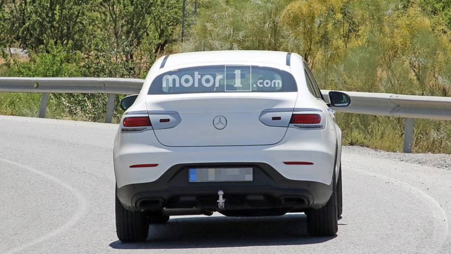 2019 Mercedes-Benz GLC Coupe spy photo