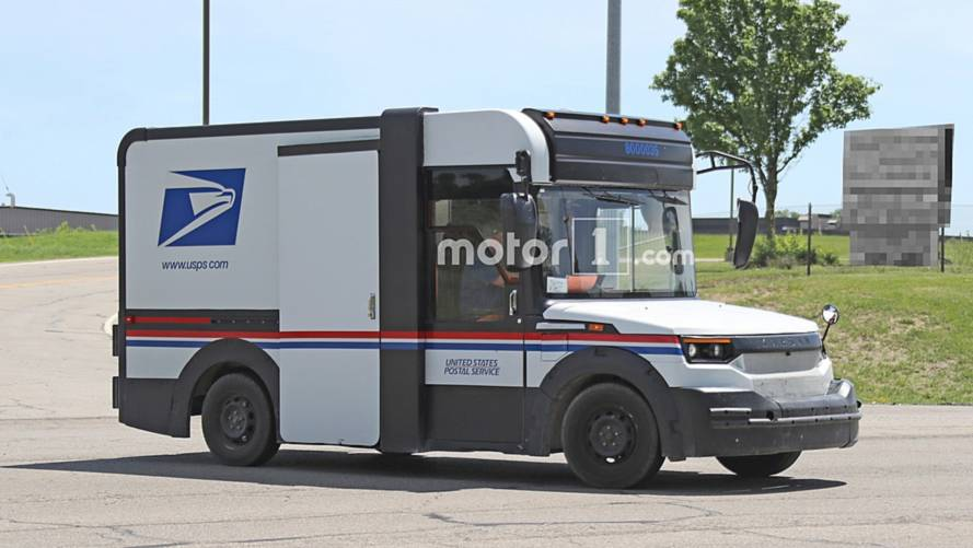 America's Next Postal Truck By Karsan Spied Testing Again