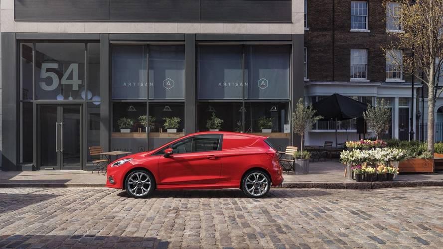 Ford Fiesta Sport Van ile taşımacılık yapmak isteyebilirsiniz