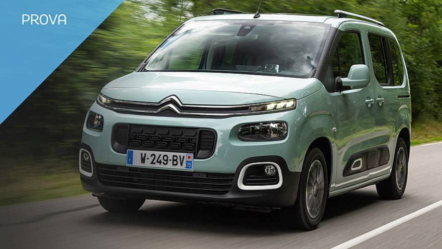 Citroën Berlingo, altro che veicolo commerciale!