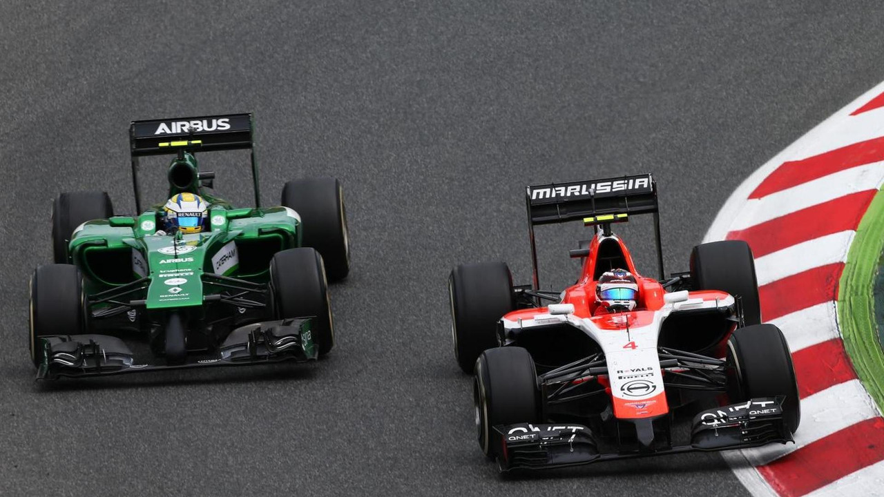 Marussia F1 Team and Caterham F1 Team / XPB