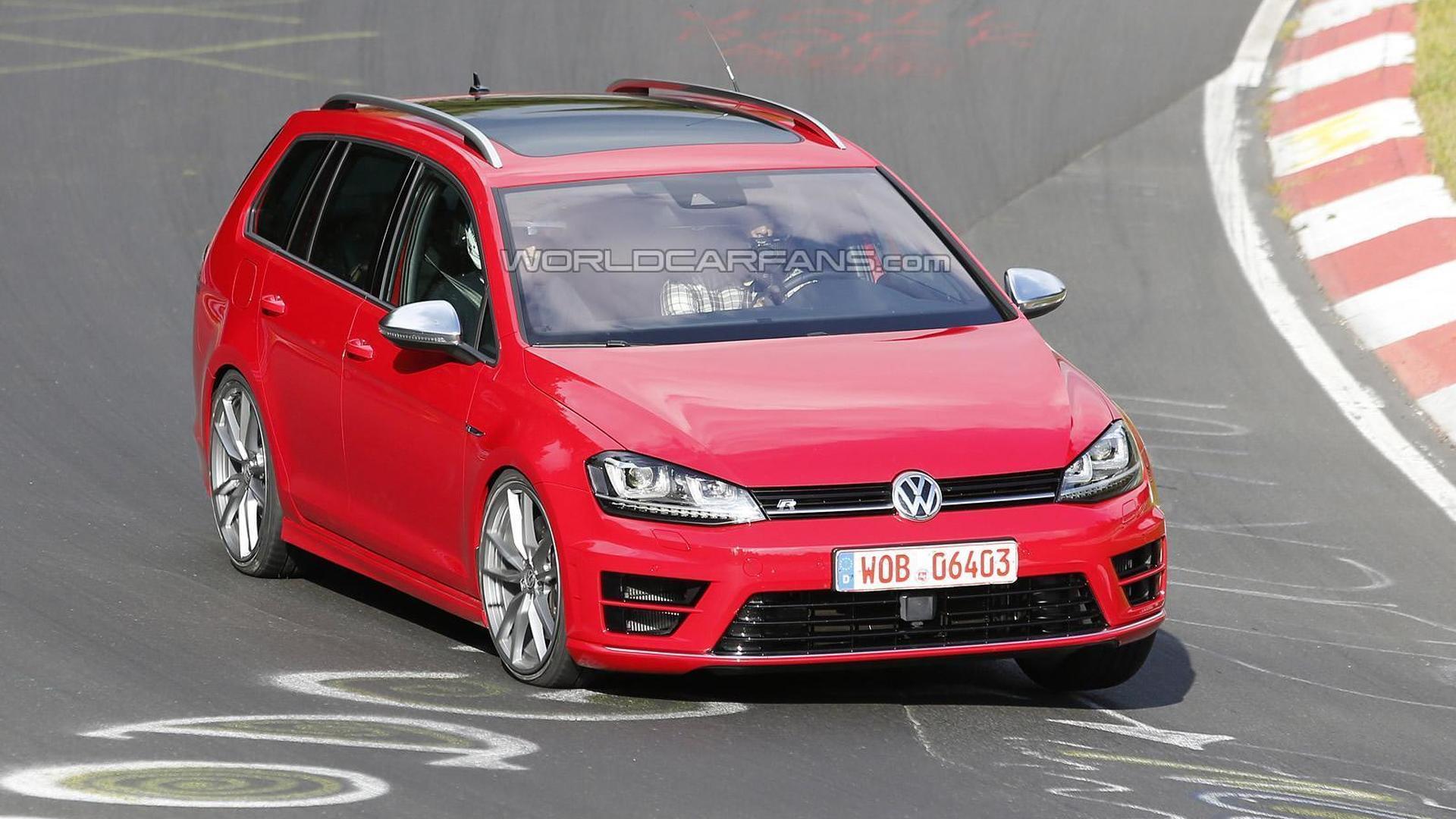 Дорожные испытания Volkswagen Golf R Variant