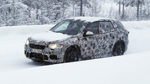 2016 BMW X1 seven-seater spy photo