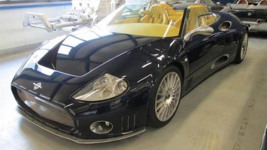 Spyker assets being auctioned off over tax debts - report