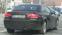 SPY PHOTOS: More BMW M3 Convertible